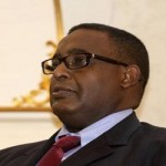Newly elected Somalia PM Ali Sharmarke is seen during a ceremony in the capital Mogadishu