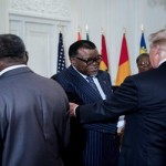 "President Trump 'invents' New African country Called ""Nambia"""